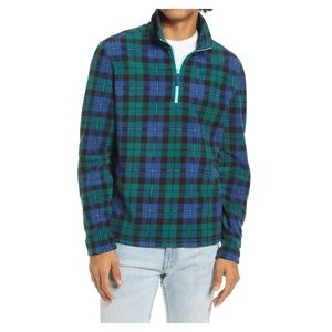 NWT Chubbies hand me down flannel pullover Med